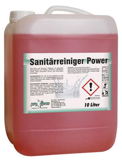 Sanitärreiniger Power / Kanister à 10 Liter