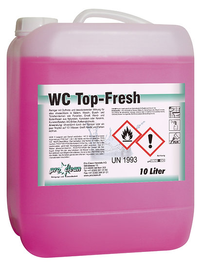 WC-Reiniger Top-Fresh / Kanister à 10 Liter