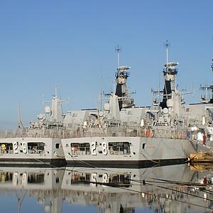 Corvette warships