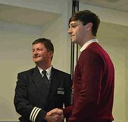 2014 Hal Devonald receives his award fro