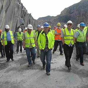 Burlington slate quarry