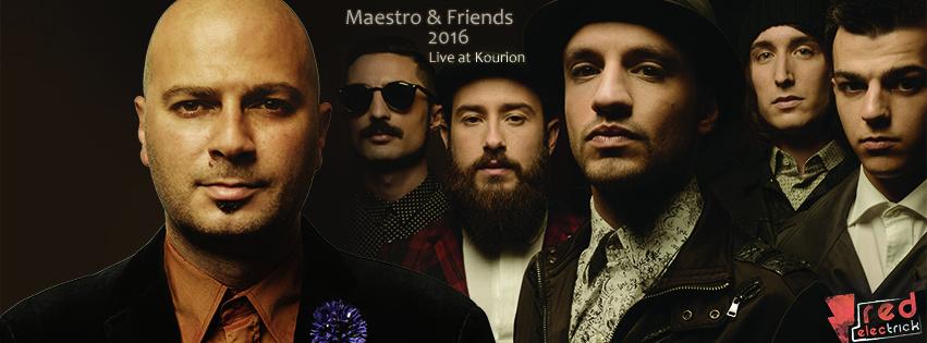 Maestro & Friends 2016 FaceBook Cover