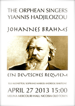 Brahms Requiem Poster