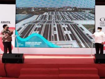 Coca-Cola Amatil Indonesia Resmikan Atap Panel Surya Terbesar Dalam Fasilitas Produksi di Asia Tengg