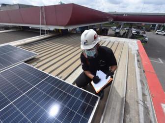 Pertama Akan Operasikan PLTS Atap di 63 SPBU Berkapasitas 1,5 Gigawatt