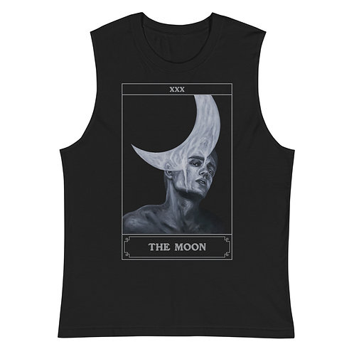 The Moon is Bleeding Tarot Muscle Shirt - Limited Edition of 50