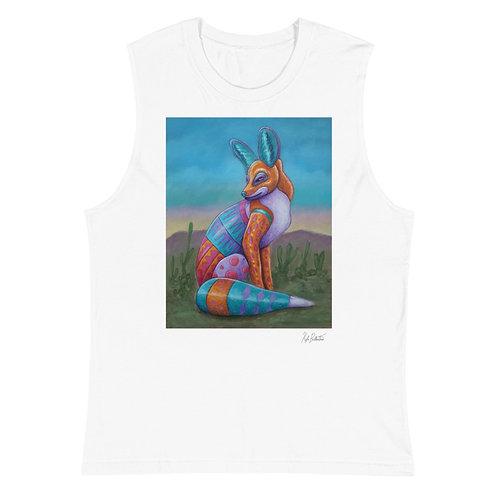 Spirit of the Fox Muscle Shirt