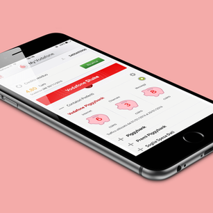 Vodafone Piggybank