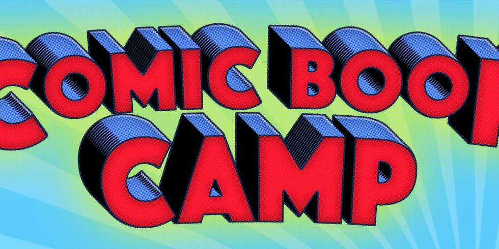 Comic Book Camp 2019!