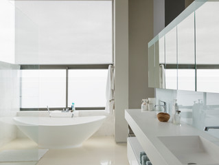 How a Professional Cleans a Master Bathroom