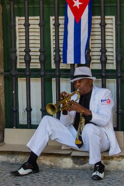 Trumpet Player - Super Immigrant (SI New