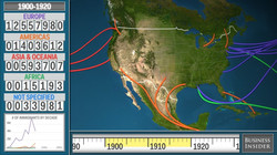 Animated Map Shows History of US Immigra