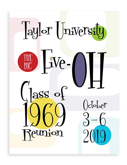 Taylor University Reunion Magazine Cover
