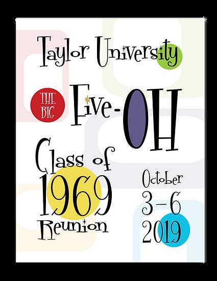 Taylor University Reunion Magazine Cover