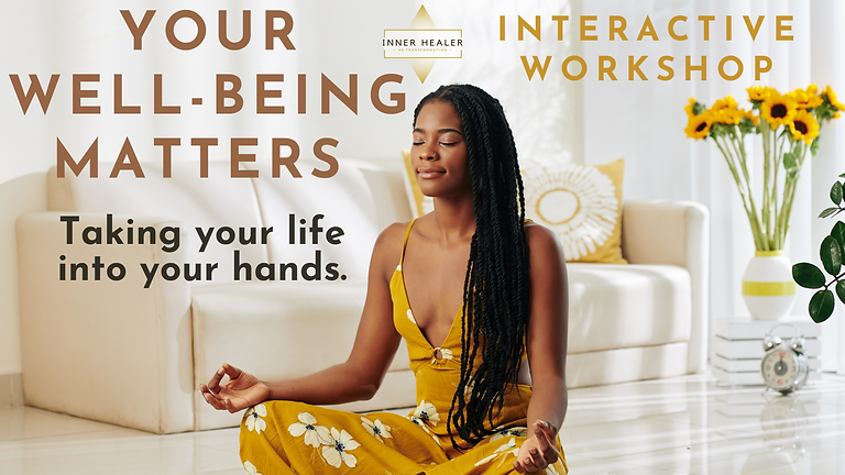 Your Well-being Matters - Taking Your Life Into Your Hands