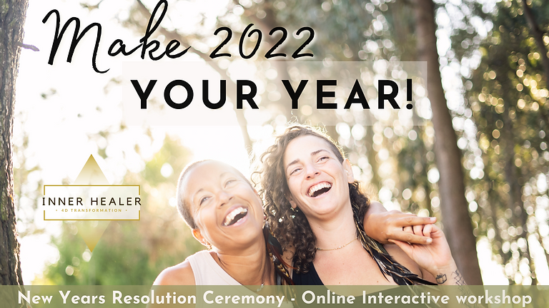 Make 2022 Your Year! New years resolution ceremony.