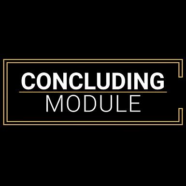 7 - Concluding Module 01