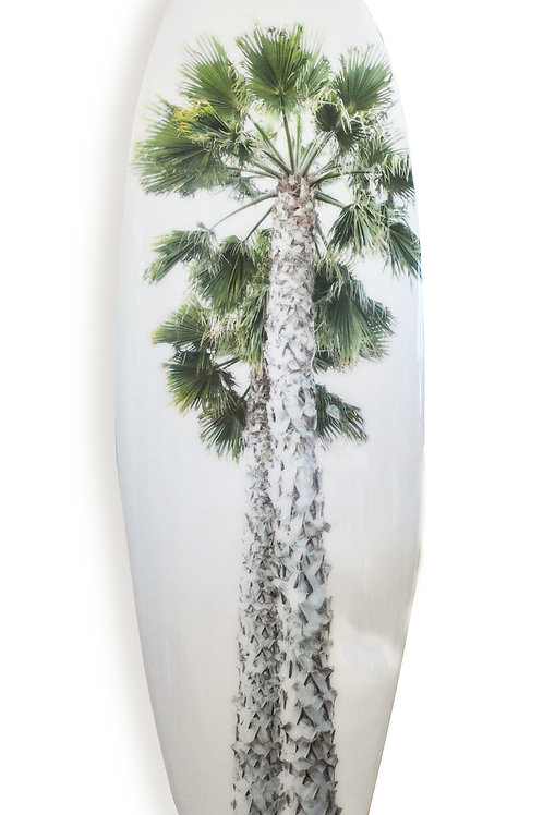 """Sexy Palm"" Stoked Surf Board"
