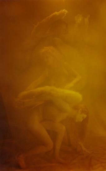 """Bobbi Bennett """"Fallen Angels"""" 24 x 36"""" $3500"""