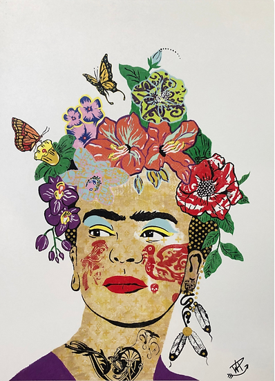 Frida Kahlo Canvas