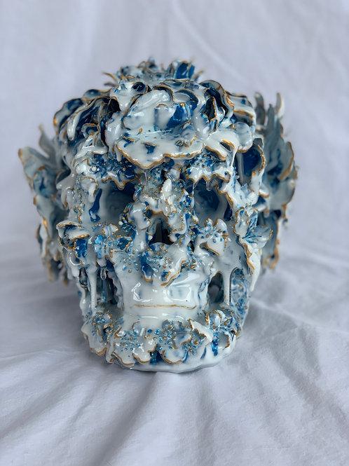 Chinoiserie Skull