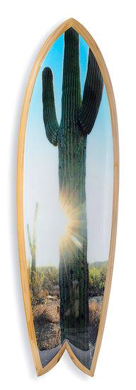"""Bobbi Bennett """" Cactus Sun"""" Stoked Surfboard"""