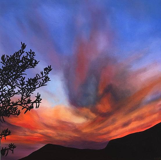 One Gun Ranch Sunset