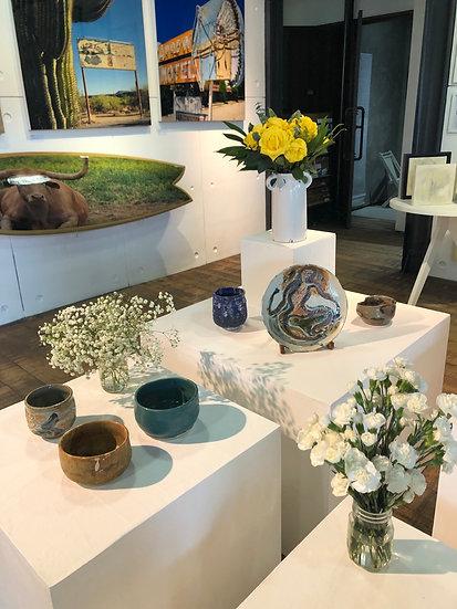 Carol Moss Ceramic Pieces