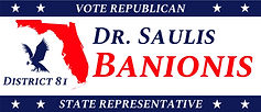 Vote Republican Dr. Saulis Banionis State Representative District 81