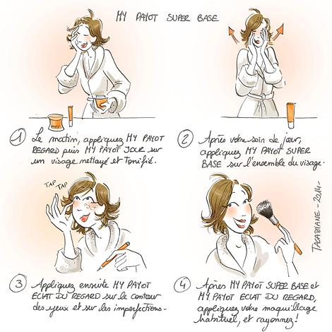 Conseil d'application de votre crème de jour pour le visage
