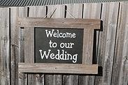 Wedding Easel Yarra Valley