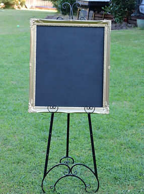 Wedding Easel Yarra Valley