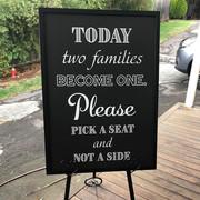 Wedding Easel & Sign