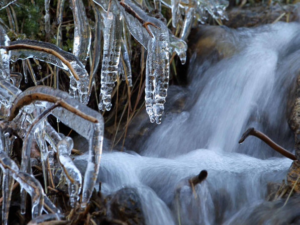 Le ruisseau de glace