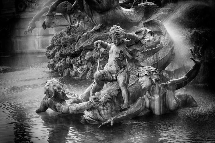 Bordeaux - détail fontaine des girondins