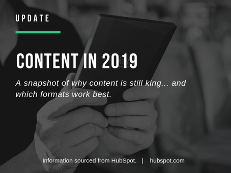 CONTENT IN 2019: Why content is still king