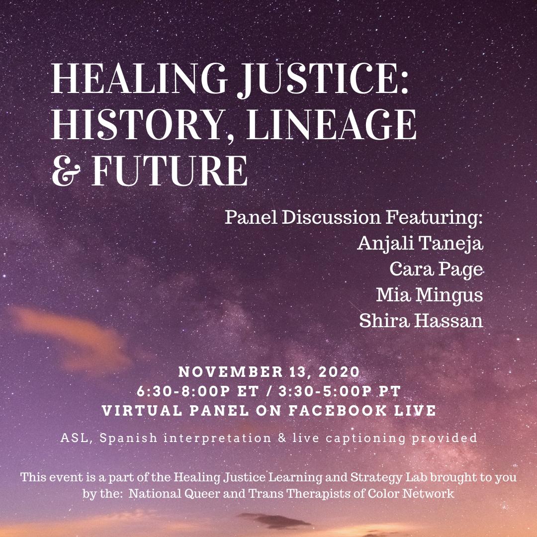 Healing justice_ history, lineage & Futu