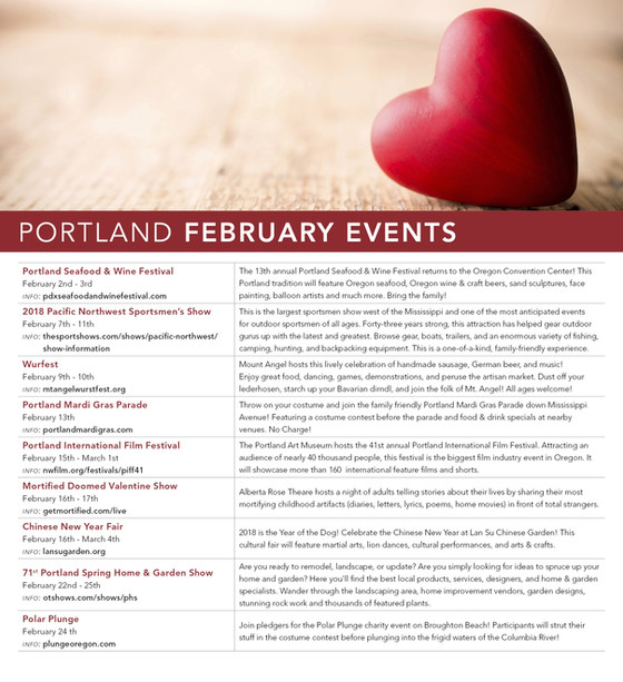 February Events are Here!