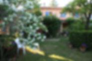 Jardin des Condamines Pertuis gîtes
