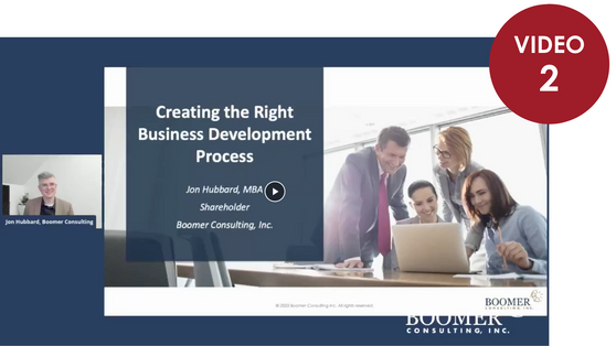 Creating the Right Business Development Processes