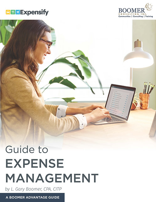 Expense Management: A Boomer Advantage Guide