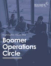 Operations Circle - 2020 Highlights Cove