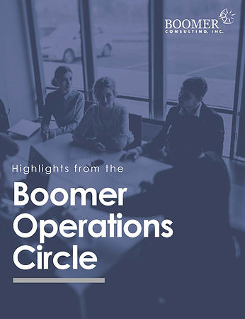 Operations Circle - 2020 Highlights Cove