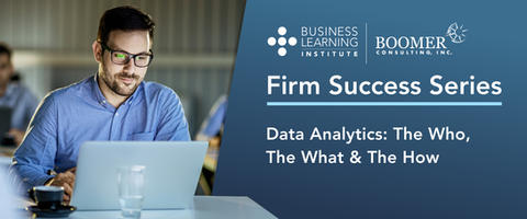 Data Analytics: The Who, The What & The How