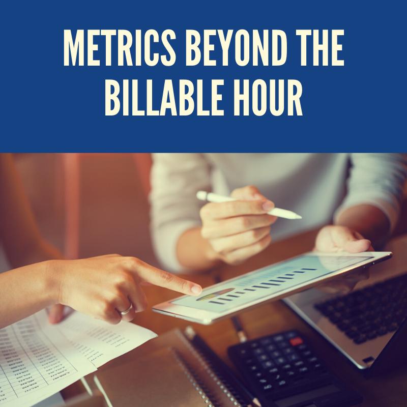 Metrics Beyond charge hours
