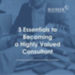 3 Essentials to Becoming  a Highly Value