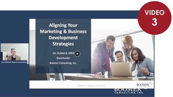Aligning your Marketing & Business Development Strategies