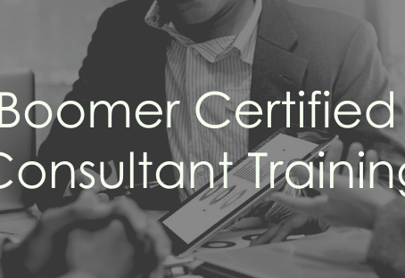 FOR IMMEDIATE RELEASE: Boomer Consulting, Inc., Launches New Certified Consultant Training Program