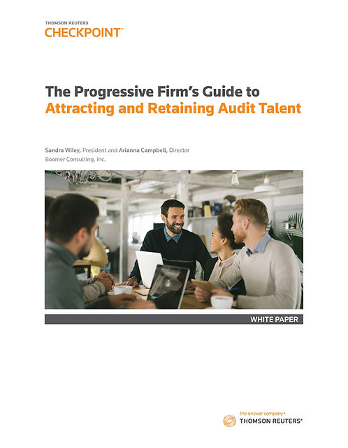 The Progressive Firm's Guide to  Attracting and Retaining Audit Talent