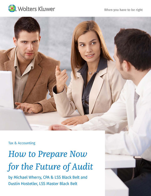 How to Prepare Now for the future of Audit